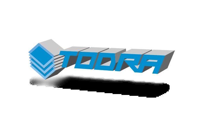 Logo 3D mit Schein und Schatten